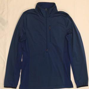 Lululemon Men's Blue 1/2 Zip Sweatshirt size S